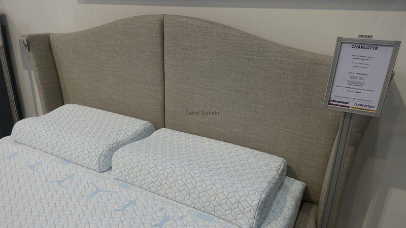 Łóżko Tapicerowane CHARLI 160x200+stelaż zdjęcie 5