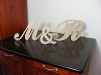 Zestaw liter drewno 18 cm na ślub przyjęcie prezent podziękowanie