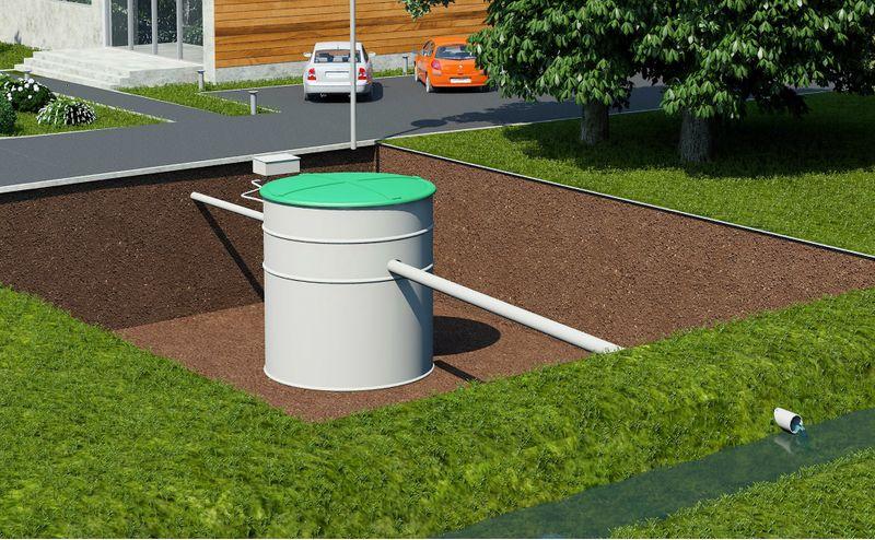 Przydomowa biologiczna oczyszczalnia ścieków 4 - 10 osób VH8 LIGHT zdjęcie 6