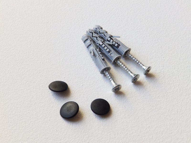 Metalowy wieszak ścienny na ubrania klucze - LOVE zdjęcie 4