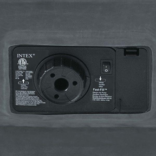 Intex Materac dmuchany Comfort Plush High Rise Queen z pompką, 64418 GXP-680211 zdjęcie 5