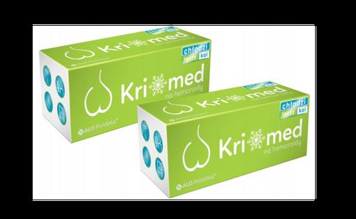 Na hemoroidy Kriomed ALG Pharma sztyft maść krem