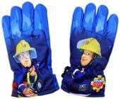 Rękawice Strażak Sam Fireman 7-8 lat 122-128 niebieskie