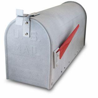 16446 Skrzynka amerykańska betonowa + czerwona flaga na listy prasę