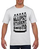 Koszulka męska NAJLEPSZY STUDENT S
