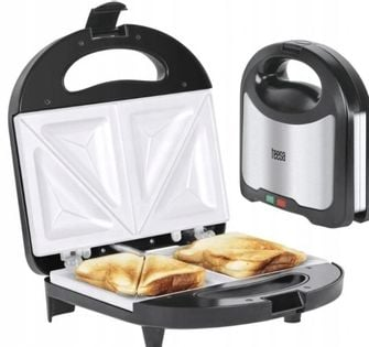 Opiekacz Sandwich Toster Do Kanapek Ceramiczny