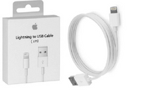 KABEL LIGHTNING APPLE IPHONE SE 5 5S 5C 6 7 8 X IPAD PLUS - 1M