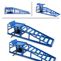 Rampa hydrauliczna 2 szt komplet z podnośnikiem rampy 15207