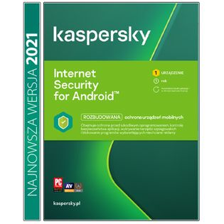 Kaspersky Internet Security for Android / 1rok