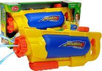 Pistolet na Wodę ze Zbiornikiem 1450 ml Żółto- Niebieski