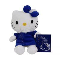 Hello Kitty TY plusz niebieska sukienka 15cm