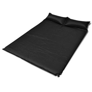 Czarna, Samopompująca Się Mata ,190 X 130 X 5 Cm (Podwójna)