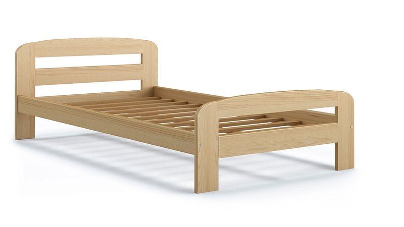 Łóżko DALLAS 200x90 + drewniany stelaż zdjęcie 4