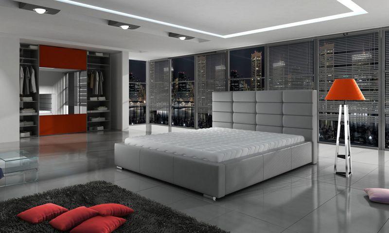 Łóżko Tapicerowane PORTO 160x200+ Stelaż zdjęcie 1