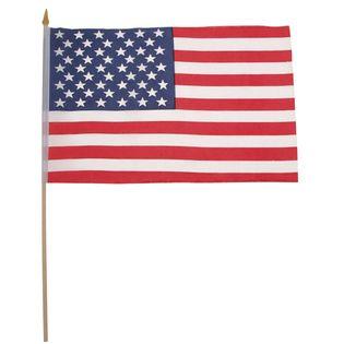 FLAGA USA 30 x 45 cm Z MASZTEM