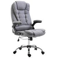 Krzesło Biurowe, Szare, Poliester