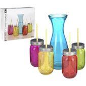 Karafka z 4 szklankami