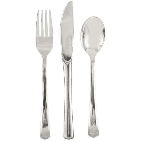SZTUĆCE srebrne PREMIUM dla 6 OSÓB obiad 18 szt zdjęcie 1