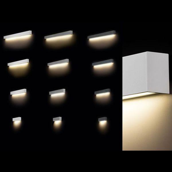 Bardzo dobra Lampa kinkiet LED STRAIGHT WALL 9611 White M Nowodvorski • Arena.pl WB66