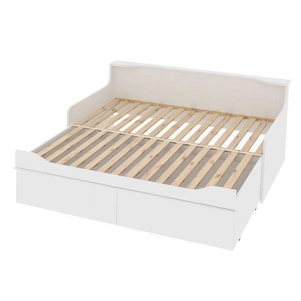Combee łóżko Młodzieżowe Białe