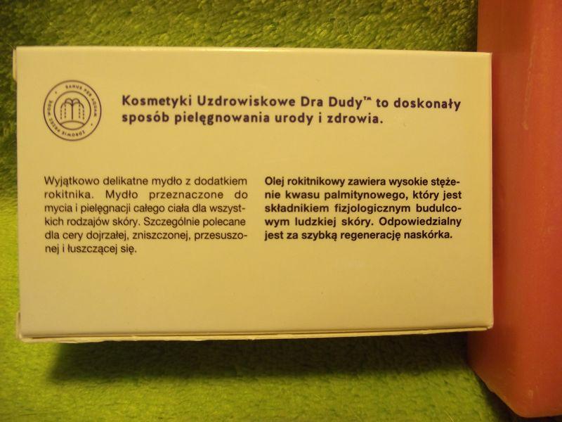 Dr Duda- Naturalne mydło rokitnikowe zdjęcie 4
