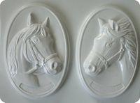 Forma do odlewów - Odlewy gipsowe - Obrazki konie (2714015)