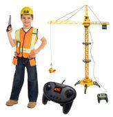 Dźwig Olbrzym Żuraw Wieżowy budowalny Sterowany pilotem wys. 128cm Y98