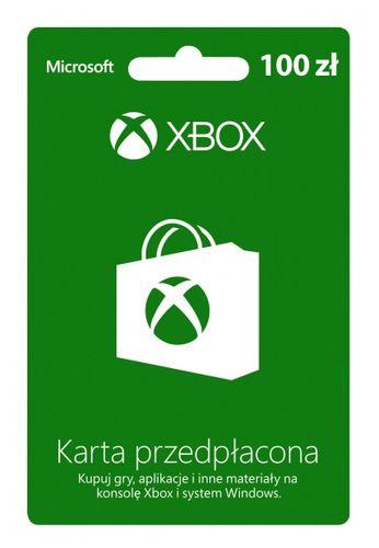 Karta przedpłacona Xbox Live 100 zł na Arena.pl