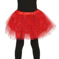 czerwone TUTU spódniczka tancerki BALETU 31 cm
