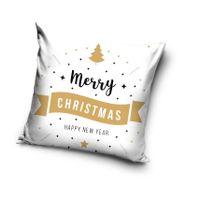 Poszewka świąteczna na poduszkę jasiek 40x40