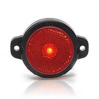 Lampa LED obrysowa tylna czerwona okrągła (652)