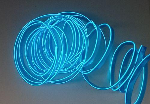 Światłowód EL WIRE Ambient Taśma LED 5m niebieski na Arena.pl