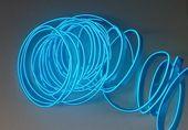 Światłowód EL WIRE Ambient Taśma LED 5m niebieski zdjęcie 13