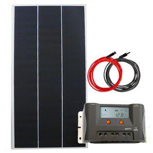 Zestaw solarny 130W 12V MPPT 2xUSB