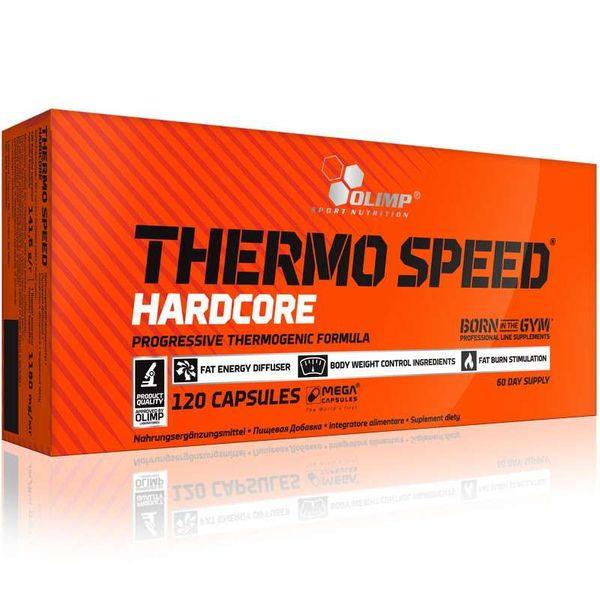 Olimp Thermo Speed Hardcore, 120 kapsułek + losowo wybrana próbka zdjęcie 1