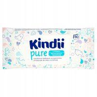 Chusteczki dla niemowląt z aloesem Cleanic Kindii Pure (60 sztuk)