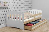Łóżko dla dzieci HAPPY dziecięce 160x80  + SZUFLADA + MATERAC zdjęcie 5