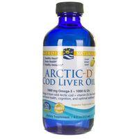 Nordic Naturals Olej z wątroby dorsza arktycznego z witaminą D cytrynowy - 237 ml
