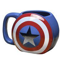 Kubek Paladone Capitan America Shield 600 ml