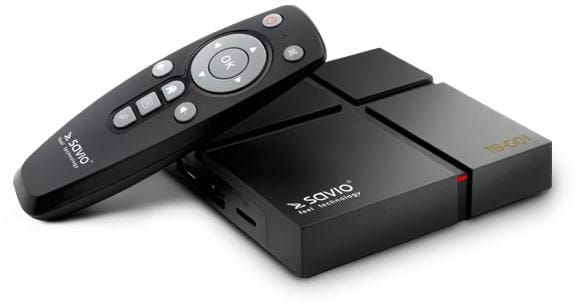 Savio Smart TV Box Gold TB-G01 zdjęcie 2
