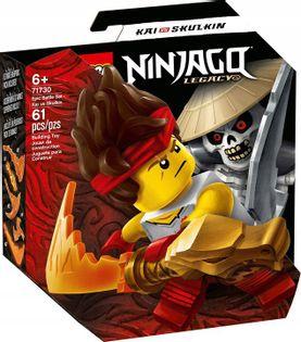 LEGO NINJAGO Kai vs Szkielet zestaw bojowy 71730
