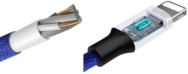 BASEUS USB lightning Długi kabel iPhone iPad 300cm - Czerwony zdjęcie 3