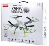 Dron Syma X5HW kamera Wi-Fi funkcja zawisu Gogle VR 3D Biały Y142GB zdjęcie 10