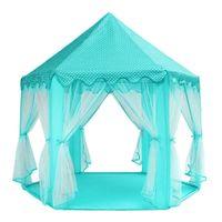Namiot Dla Dzieci Pałac do Domu Ogrodu Zamek Niebieski Y137N