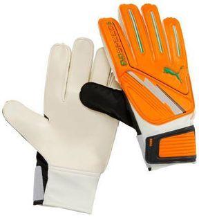Rękawice bramkarskie Puma Evo Speed 6 pomarańczowo-białe 040887 02