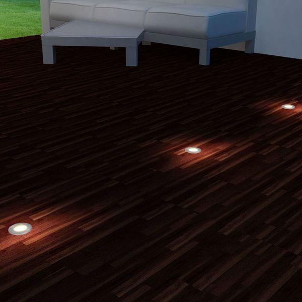 Lampy najazdowe LED, 3 szt., okrągłe zdjęcie 2