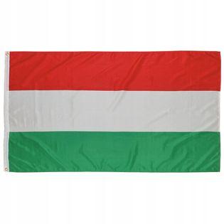 Flaga na maszt 90 x 150 cm Węgry
