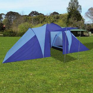 Namiot 6 osobowy granatowo-błękitny VidaXL