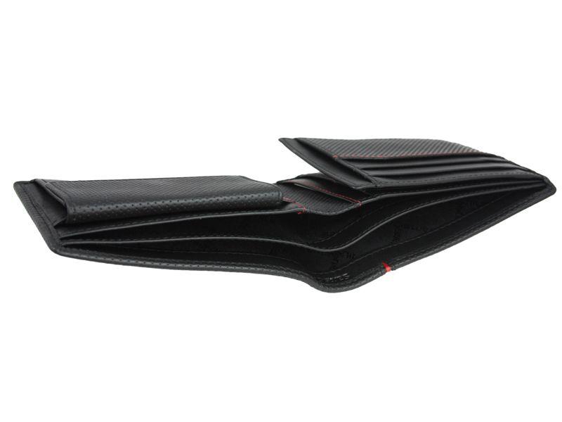 7a9a8ceeac9b2 Poziomy skórzany portfel męski Samsonite RFID, czarny • Arena.pl