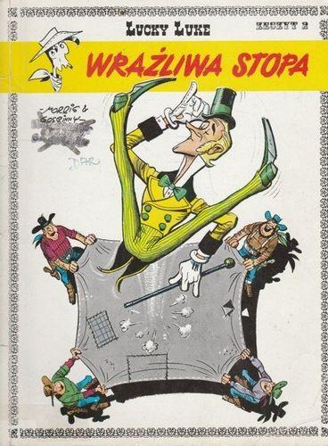 Lucky Luke Wrażliwa stopa Morris, Gościnny na Arena.pl